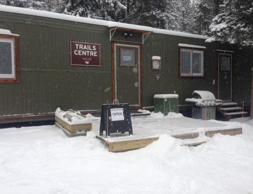 Trails Centre Is Open in West Bragg Creek