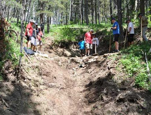 2017 Trail Construction Dates