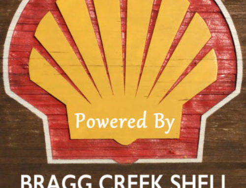 Bragg Creek Shell Donates 1000 Litres of Fuel