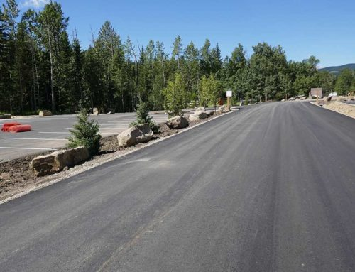 WBC Access Road Construction
