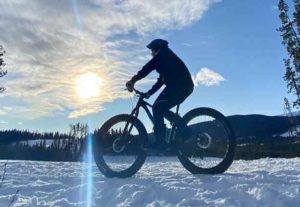 Fat Biking Bragg Creek